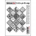 Darkroom Door Collage Cling Stamp - Arty Mosaic