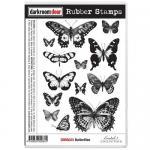 Darkroom Door Cling Stamp Sheet - Butterflies