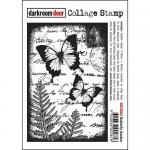 Darkroom Door Collage Cling Stamp - Butterfly Garden