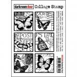 Darkroom Door Collage Cling Stamp - Butterfly Post