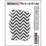 Darkroom Door Texture Cling Stamp - Chevron