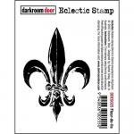 Darkroom Door Eclectic Cling Stamp - Fleur De Lis