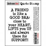 Darkroom Door Quote Cling Stamp - Good Bra