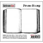 Darkroom Door Frame Cling Stamp - Open Book