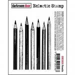 Darkroom Door Eclectic Cling Stamp - Pencils