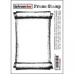 Darkroom Door Frame Cling Stamp - Scroll