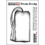 Darkroom Door Frame Cling Stamp - Shipping Tags