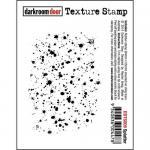 Darkroom Door Texture Cling Stamp - Splatter
