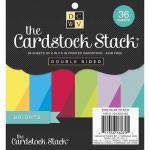 """Die Cuts With A View 6"""" x 6"""" Cardstock Stack - Brights"""