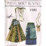 ReVisions - Panel Skirt & Vest [#103]