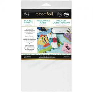 iCraft Deco Foil Iron-On Adhesive Transfer Sheets [03370]