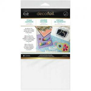 iCraft Deco Foil Foam Adhesive Sheets [03764]