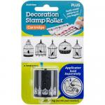 Decoration Stamp Roll Cartridge - Bird Cages [38-778]