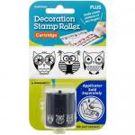 Decoration Stamp Roll Cartridge - Owls [38-732]