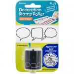 Decoration Stamp Roll Cartridge - Speech Bubbles [38-740]