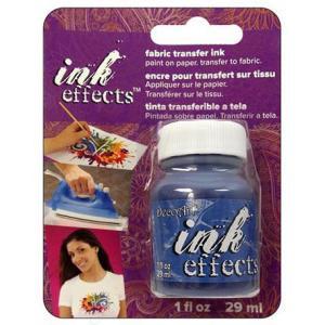 DecoArt Ink Effects Fabric Transfer Ink - [IE08C] Blue