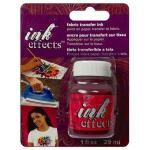 DecoArt Ink Effects Fabric Transfer Ink - [IE01C] Pink