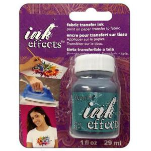 DecoArt Ink Effects Fabric Transfer Ink - [IE07C] Turquoise