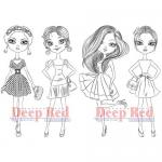 Deep Red Stamps - City Girls Night Out