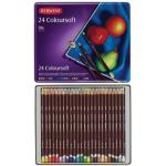 Derwent Coloursoft Pencils - Set of 24
