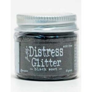 Tim Holtz Distress Glitter - Black Soot