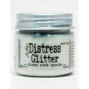 Tim Holtz Distress Glitter - Clear Rock Candy