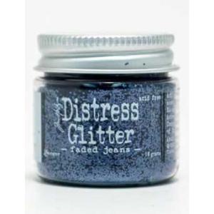 Tim Holtz Distress Glitter - Faded Jeans