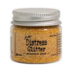 Tim Holtz Distress Glitter - Mustard Seed