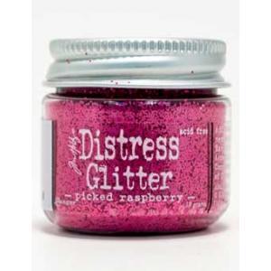 Tim Holtz Distress Glitter - Picked Raspberry