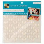 """Diecuts With A View 6"""" x 6"""" Template - Hip Patterns [00009]"""