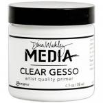 Dina Wakley Media Clear Gesso - 4 oz Jar