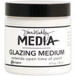 Dina Wakley Media Glazing Medium - 4 oz Jar - ON SALE!