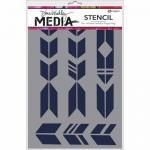 Dina Wakley Media Stencil - Grande Arrows