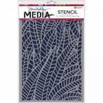 Dina Wakley Media Stencil - Jungle