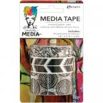 Dina Wakley Media Tape 3 Pack - Printed