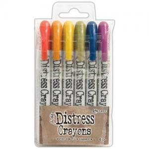 Tim Holtz® Distress Crayons - Set #2