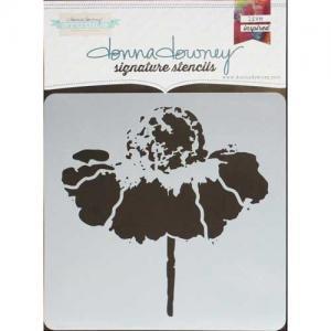 Donna Downey Signature Stencils - Cone Flower [DD-097]