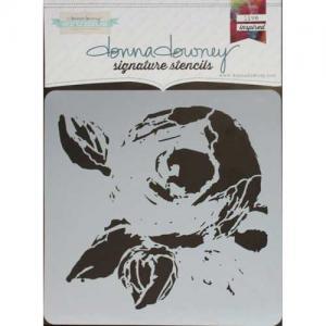 Donna Downey Signature Stencils - La Rose [DD-105]