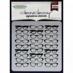 Donna Downey Signature Stencils - Donna's Glasses [DD-006]