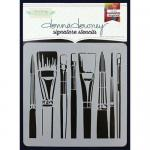 Donna Downey Signature Stencils - Brushes [DD-073]