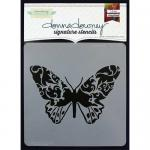 Donna Downey Signature Stencils - Butterfly [DD-082]