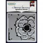 Donna Downey Signature Stencils - Poppy Collage [DD-028]