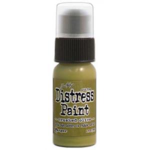 Tim Holtz Distress Paint - Crushed Olive