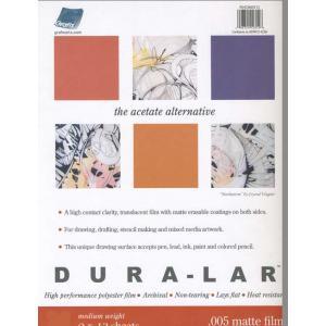 Dur-Lar Polyester Film - .005 matte