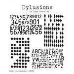 Dylusions Unmounted Rubber Stamps - Basic Backgrounds [DS020]