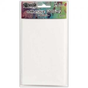 Dylusions Adhesive Canvas - Blank
