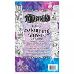 Dylusions Coloring Sheets - Holiday
