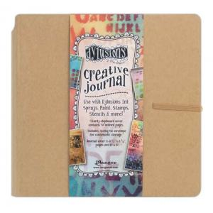 Dylusions Creative Journal - SQUARE KRAFT