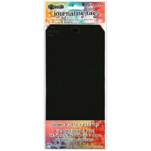 Dylusions Journaling Tags - Black Size 10