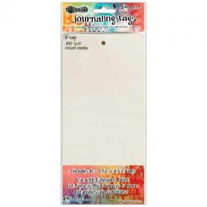 Dylusions Journaling Tags - Mixed Media Size 10